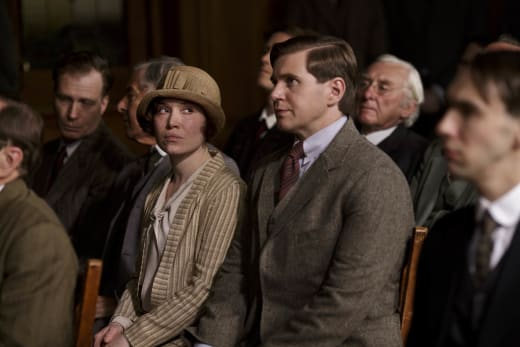 Tom and Miss Bunting - Downton Abbey