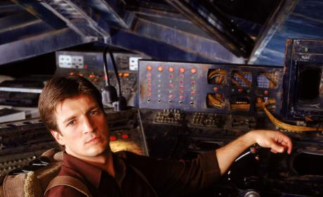 Nathan Fillion (Captain Malcolm Reynolds) - Firefly