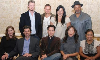 Grey's Anatomy Cast at Press Conference