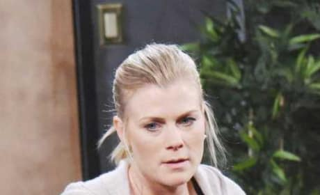 Sami Finds Brady's Bag - Days of Our Lives