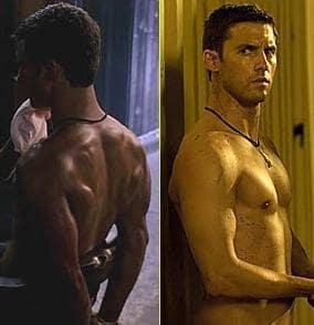Milo Ventimiglia, No Shirt