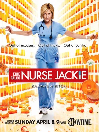 Nurse Jackie Season 4 Poster