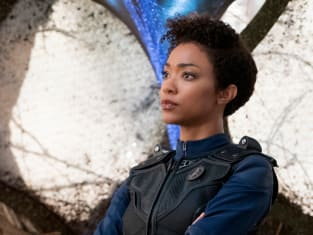 Sonequa Martin-Green as First Officer Michael Burnham - Star Trek: Discovery