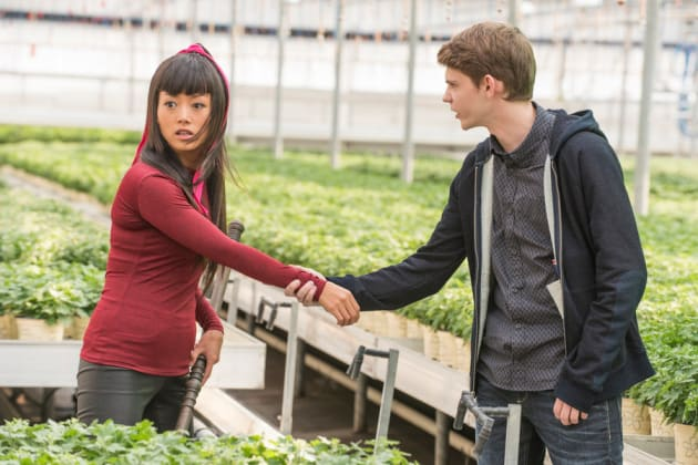 Miko and Tommy - Heroes Reborn