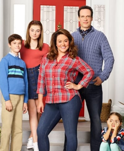 American Housewife Family