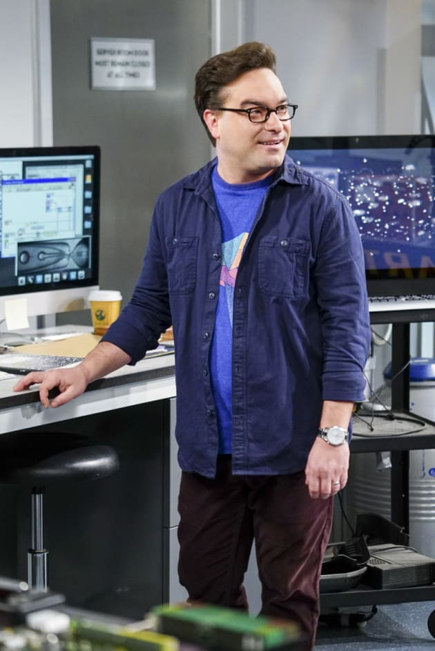 Causing a Distraction - The Big Bang Theory