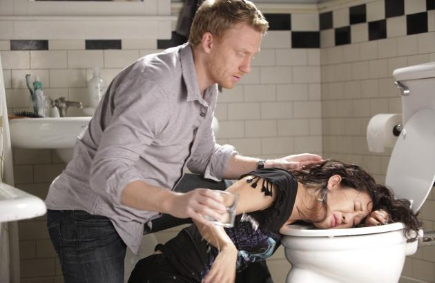 Cristina and Owen Moment