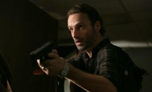 Rick with a Gun
