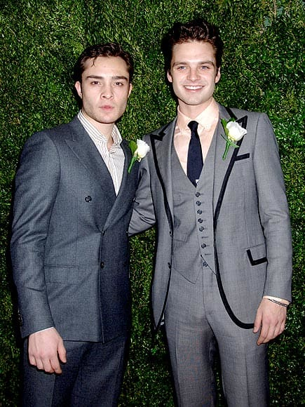 Ed Westwick and Sebastian Stan Pic