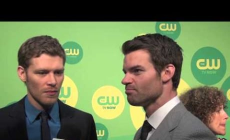 Joseph Morgan and Daniel Gillies Interview