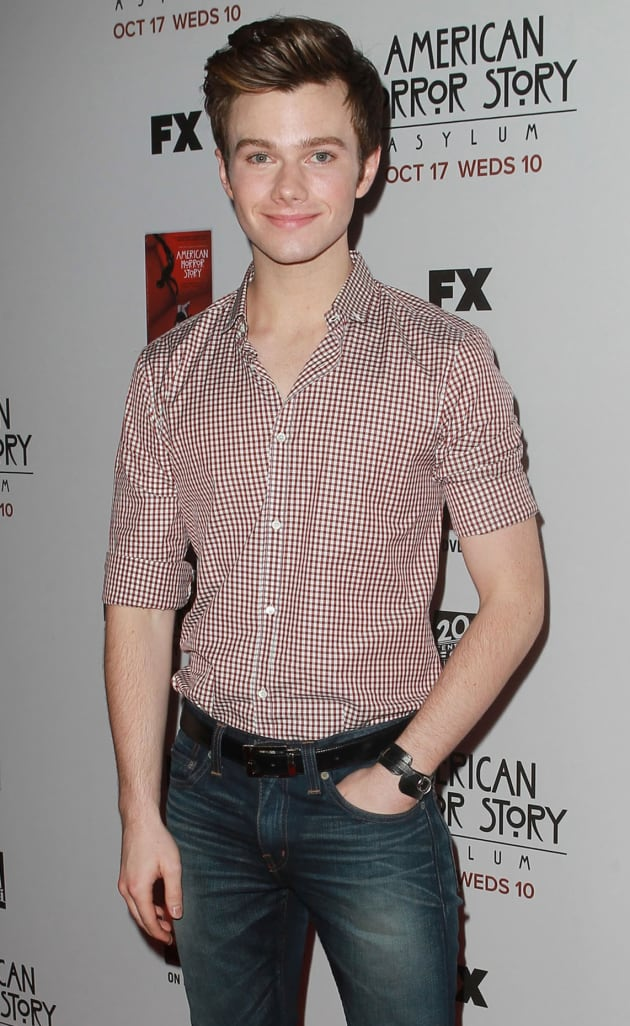 A Chris Colfer Picture