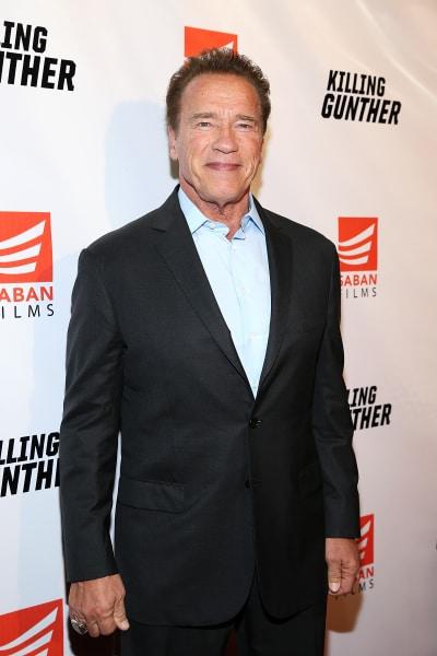 Arnold Schwarzenegger Attends Premiere