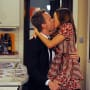 Barney and Lily Kiss!