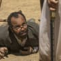 Bernard at Her Feet - Westworld Season 2 Episode 3