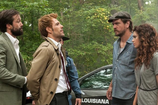 Det. Corrigan arrests John - Constantine Season 1 Episode 5
