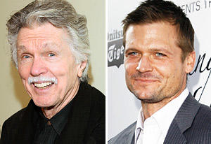 Tom Skerritt and Bailey Chase