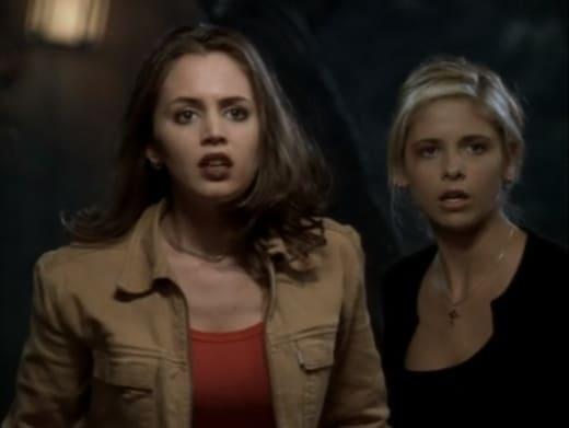 Buffy and Faith Fight - Buffy the Vampire Slayer Season 3 Episode 7