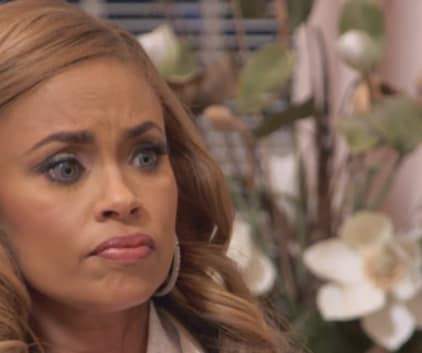 Gizelle Is Concerned - The Real Housewives of Potomac