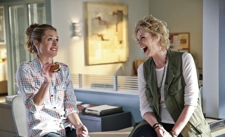 Maggie Lawson and Jane Lynch - Angel from Hell