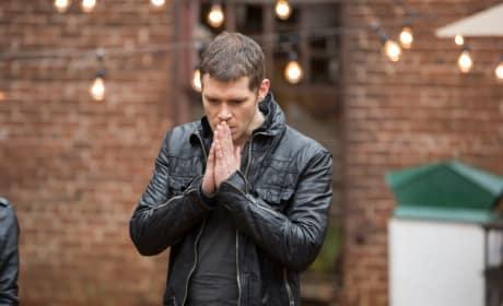 Klaus in Prayer?