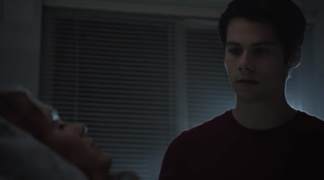 Stiles visits lydia teen wolf