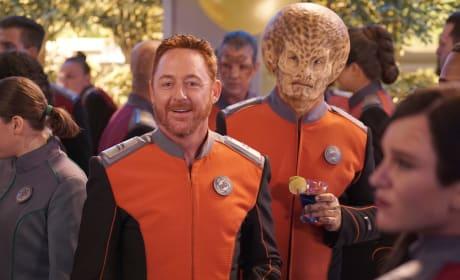 Malloy and Dann - The Orville Season 2 Episode 8