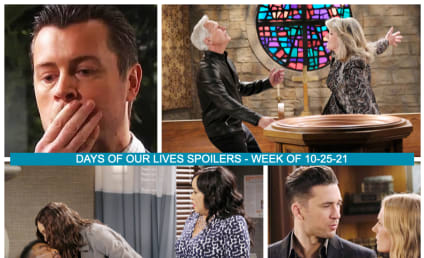 Days of Our Lives Spoilers for the Week of 10-25-21: Abe Walks Into The Light