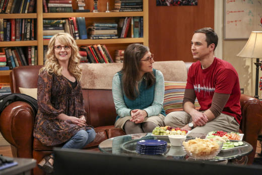 Bernadette Listens to Amy and Sheldon's Story - The Big Bang Theory Season 10 Episode 12