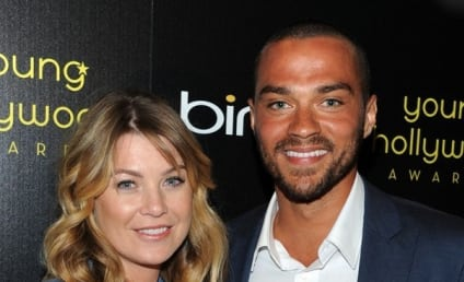 Ellen Pompeo Presents Young Hollywood Award to Jesse Williams