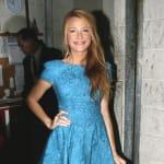 Blake in a Blue Dress