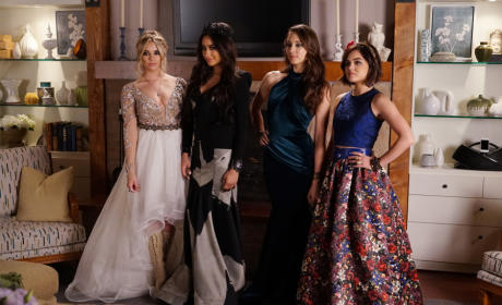 Fake Prom Pose - Pretty Little Liars Season 6 Episode 9