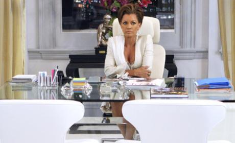 Wilhelmina at Her Desk