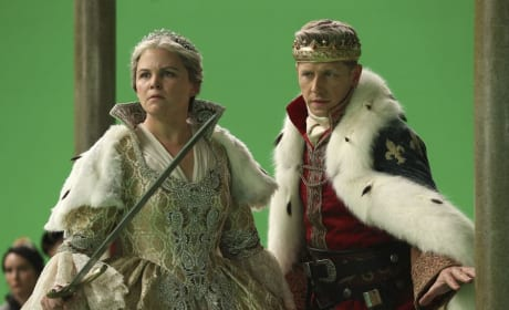 Snow and David Are Looking Older - Once Upon a Time Season 6 Episode 10