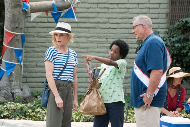 Claire and Jay at the Parade - Modern Family Season 10 Episode 1