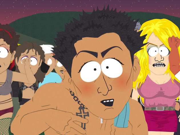 Jersey Shore on South Park