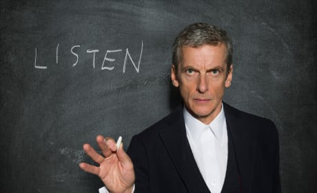 """Doctor Who Photos from """"Listen"""""""