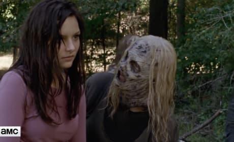 The Walking Dead Sneak Peek: Does Lydia Trust Alpha?
