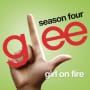Glee cast girl on fire