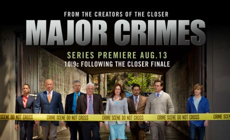 Major Crimes Cast Pic