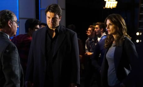 Solving Crimes Together Again - Castle Season 8 Episode 9