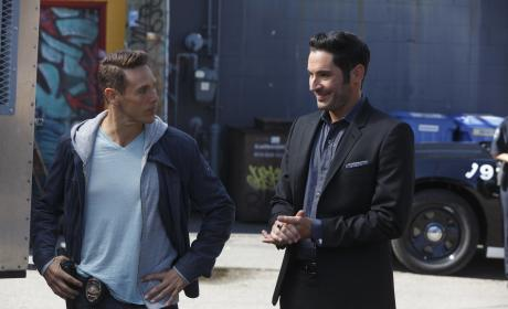 """Lucifer Photos from """"My Little Monkey"""""""