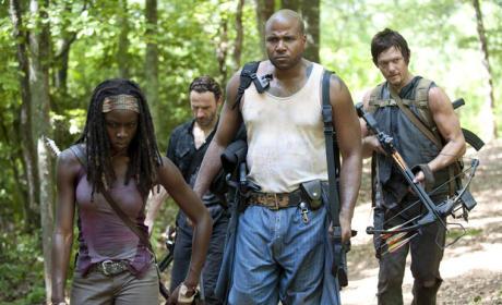 Walking Dead Foursome