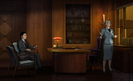 Sterling Archer and Malory: Dreamland Season 8 Episode 1