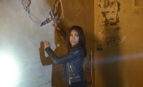 Abbie at Work - Sleepy Hollow