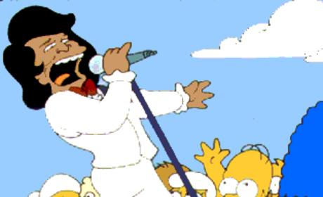 James Brown on The Simpsons