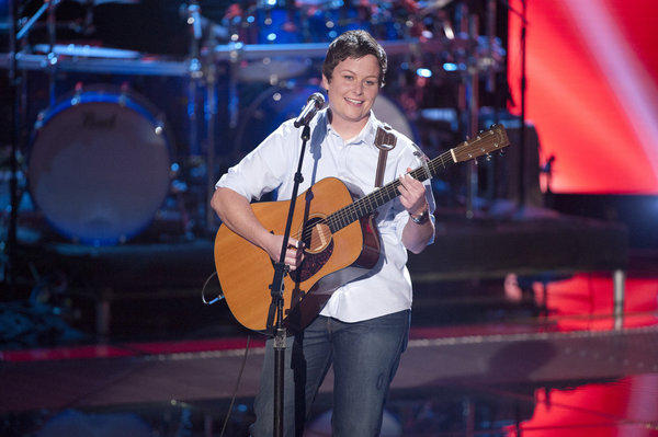 Sarah Golden's Blind Audition