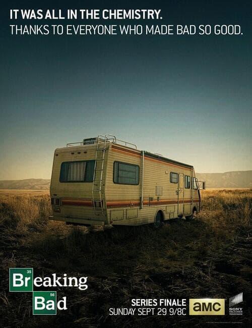 Breaking Bad Final Episodes Poster