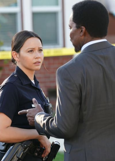 Officer Chen and Det. Armstrong - The Rookie Season 2 Episode 9