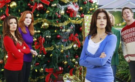 Christmas on Desperate Housewives