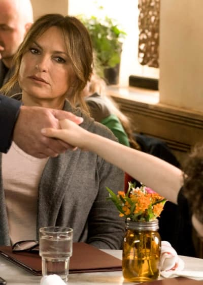 A Disturbing Handshake - Law & Order: SVU Season 20 Episode 23
